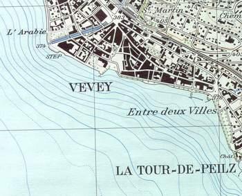 vevey carte - Image